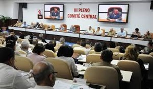 Aprueba III Pleno del Comité Central del Partido documentos rectores